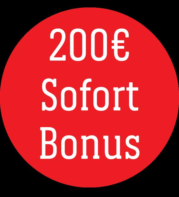 200 EUR Sommer Sofort-Bonus